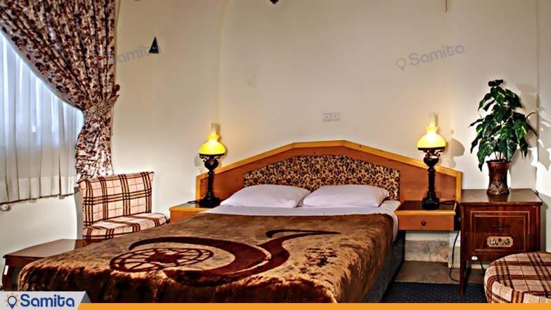 اتاق دبل هتل جهانگردی دامغان
