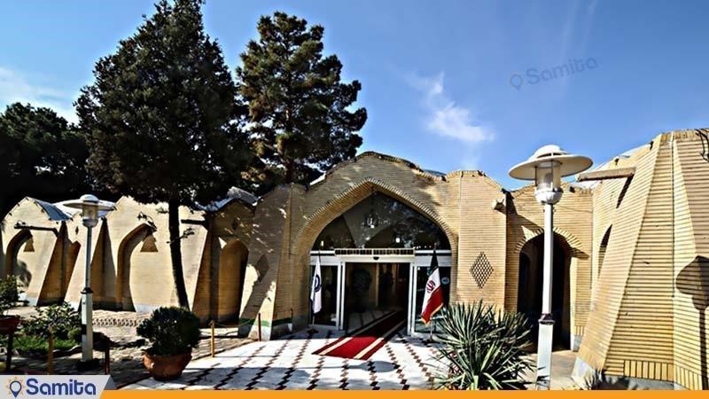 نمای ساختمان هتل جهانگردی دامغان