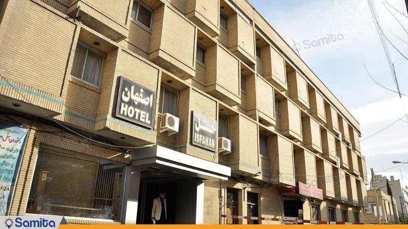 نمای ساختمان هتل اصفهان