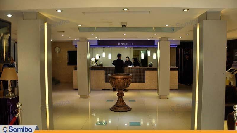 الاستقبال فندق اصفهان