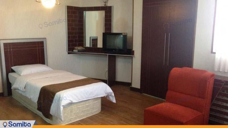 اتاق یک تخته هتل اصفهان