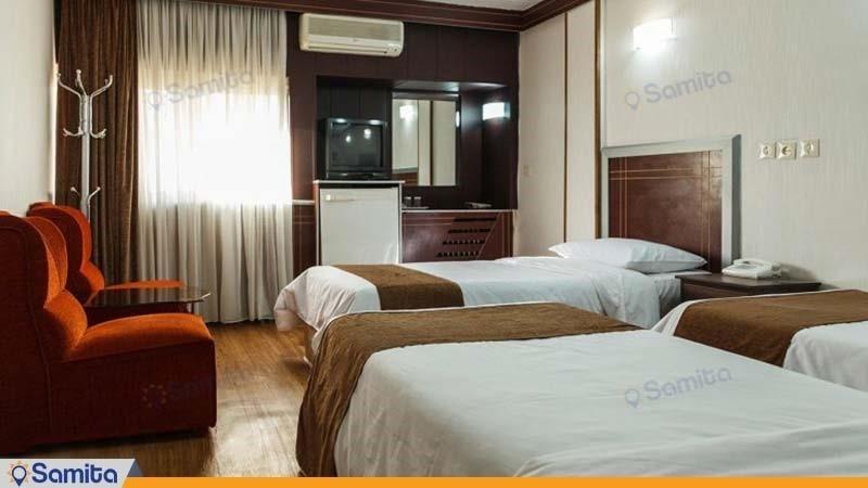 اتاق سه تخته هتل اصفهان