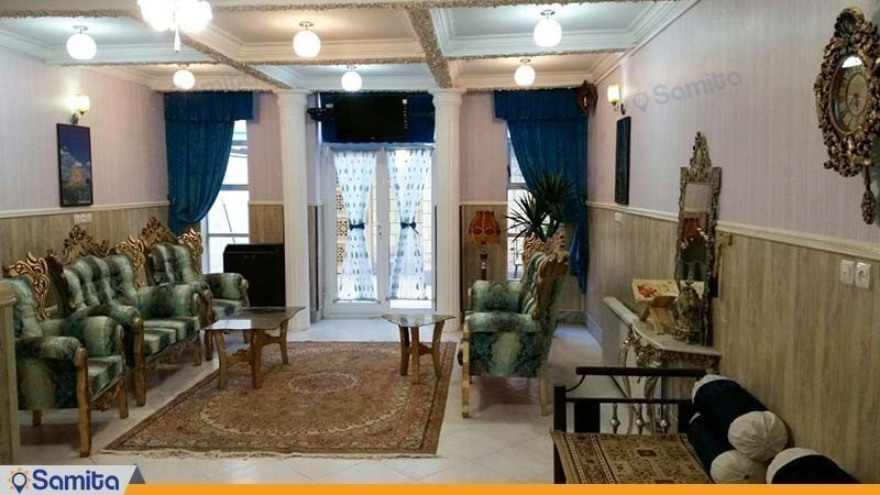 لابی هتل آپارتمان هخامنشیان پارتاک