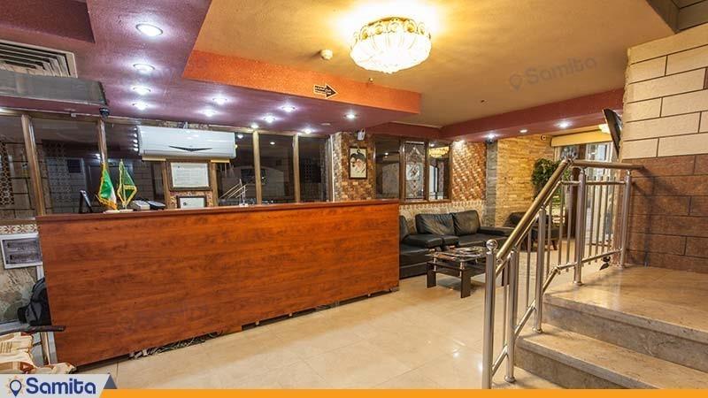 پذیرش هتل جمشید اصفهان
