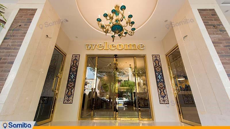 ورودی هتل خواجو