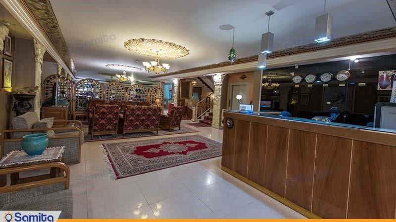پذیرش هتل ملک