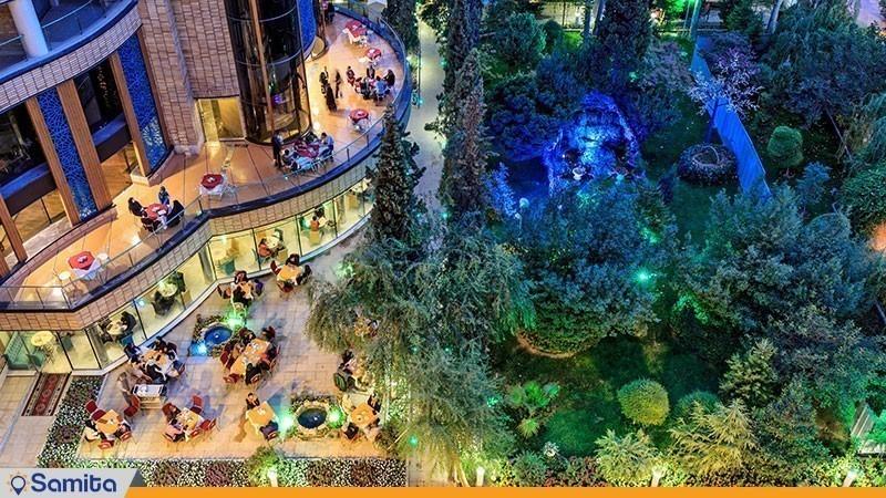 باغ هتل پارسیان کوثر اصفهان