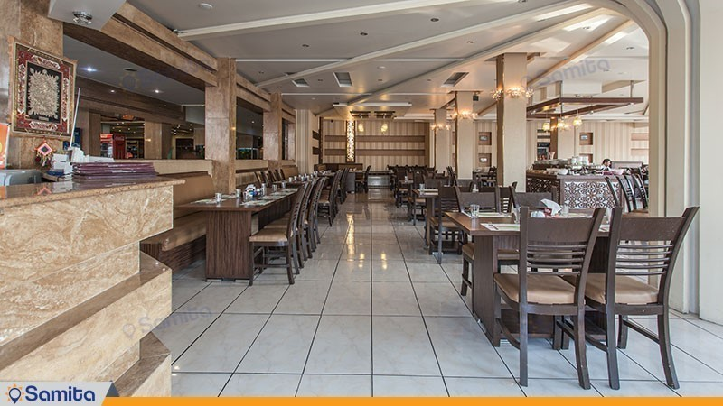 مطعم فندق بارسيان سوئيت