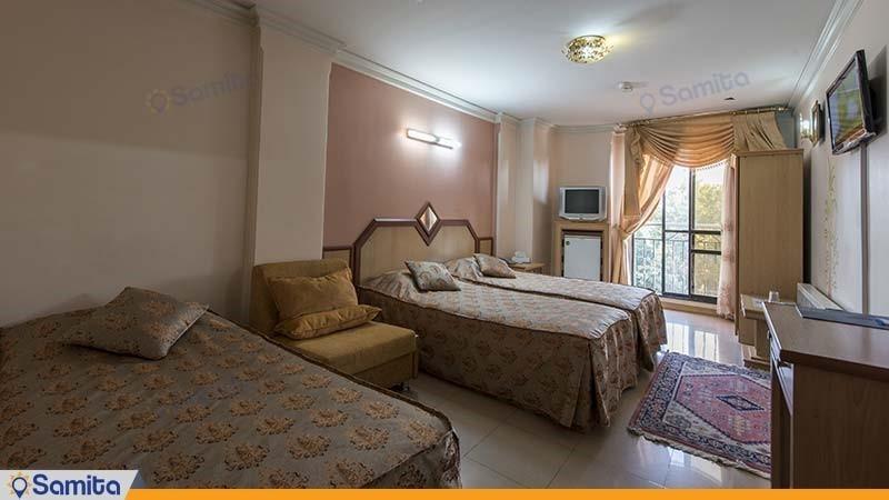 اتاق چهار نفره هتل صفوی