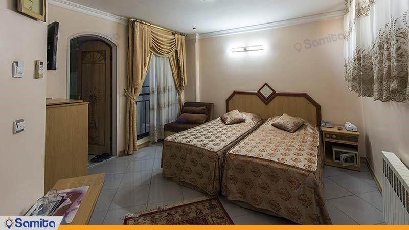 اتاق دو نفره هتل صفوی