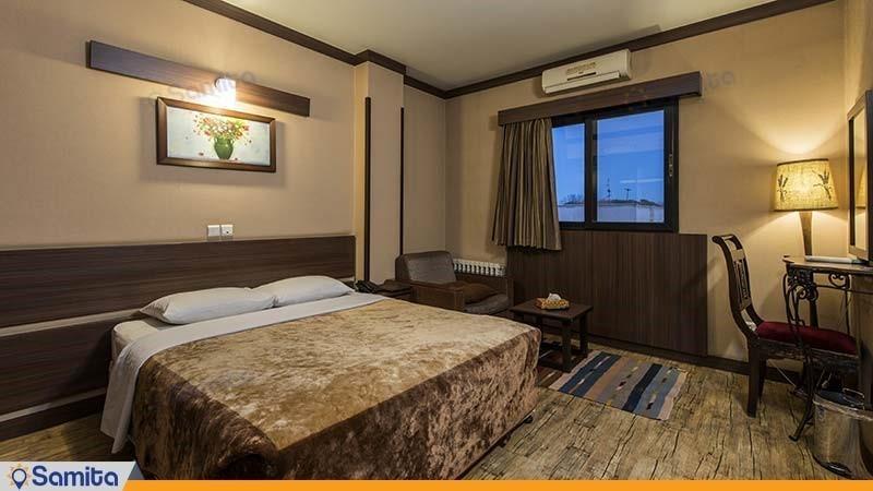 اتاق دبل هتل شیخ بهایی