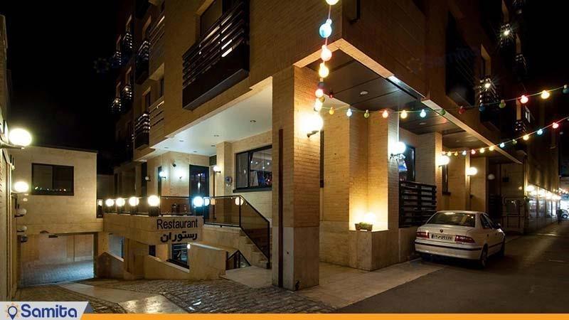 نمای ساختمان هتل شیخ بهایی