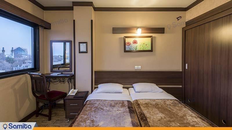 اتاق دو تخته هتل شیخ بهایی