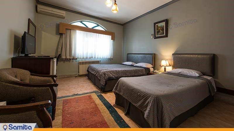 اتاق سه تخته هتل توریست