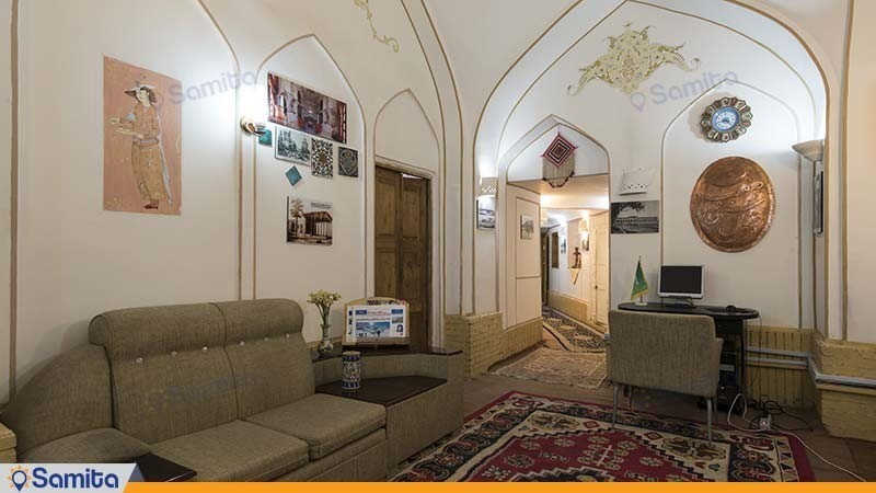 لوبي فندق تقليدي