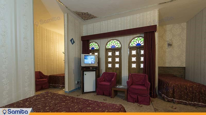 اتاق چهار نفره هتل سنتی