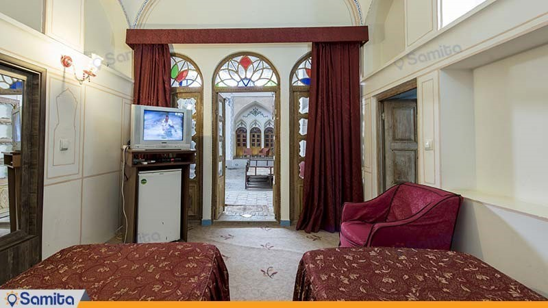 اتاق دو نفره هتل سنتی