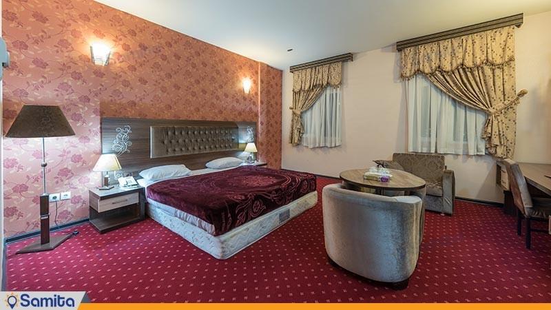 اتاق دو تخته دبل هتل بزرگ پارسیا
