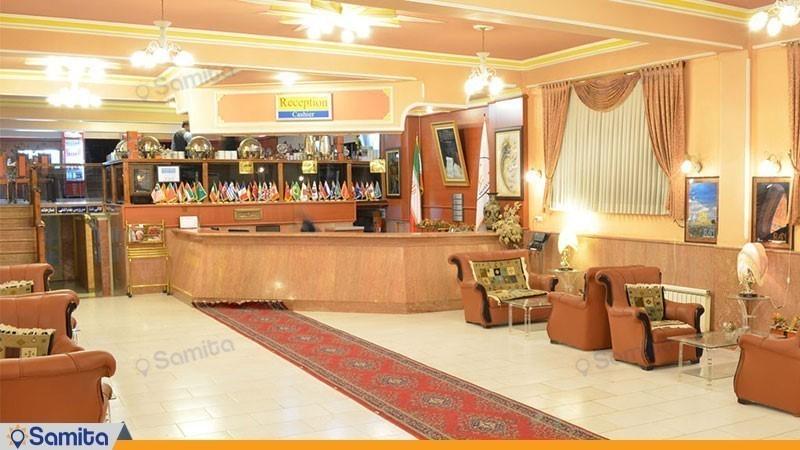لابی هتل آذین