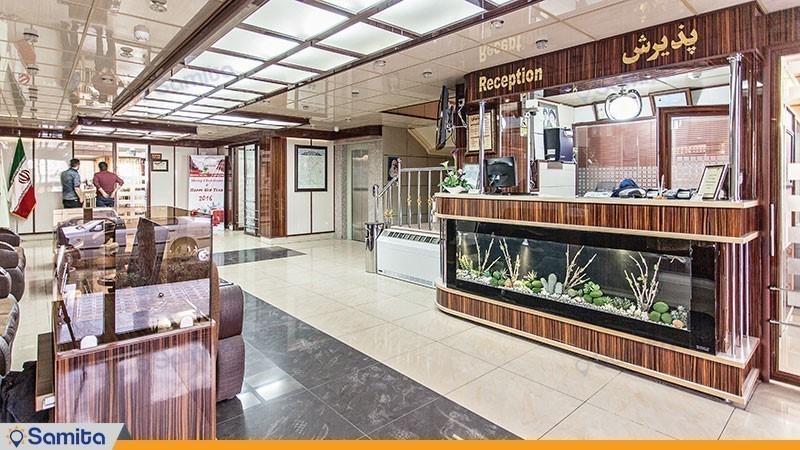 پذیرش هتل جهانگردی ماهان