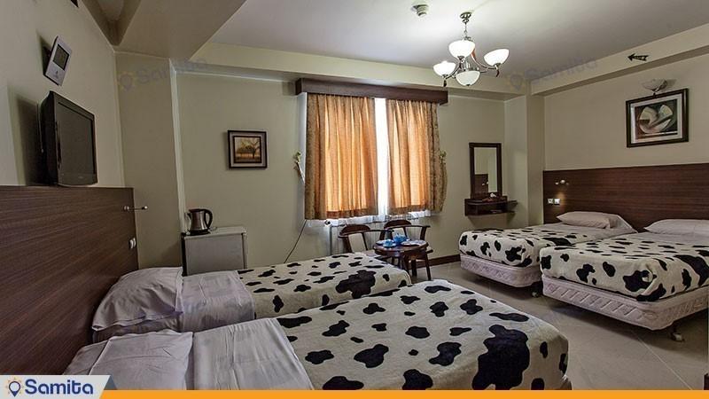 اتاق چهار تخته هتل پارت