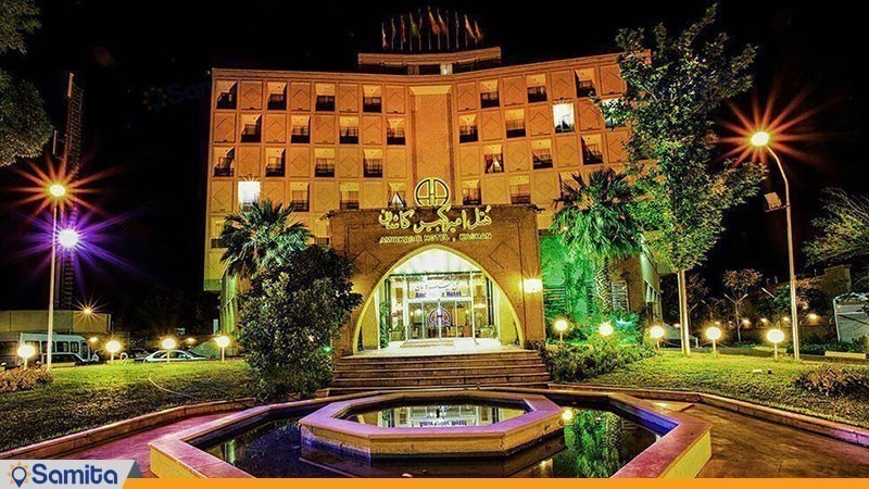 نمای ساختمان هتل امیر کبیر کاشان