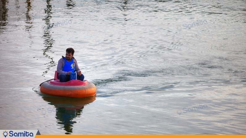قایق سواری مجتمع خورشید اردهال