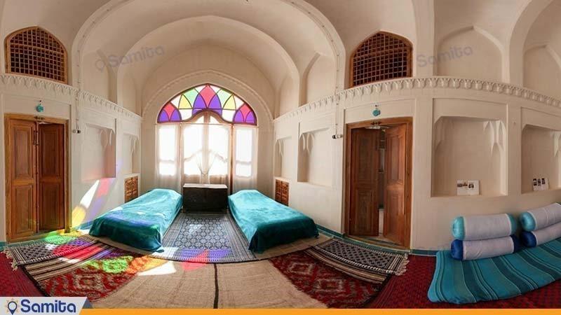 اتاق بالا خانه هتل سنتی خانه ایرانی