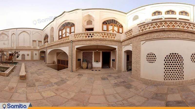 نمای ساختمان هتل سنتی خانه ایرانی