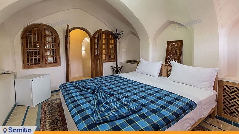اتاق چهار تخته دوبلکس هتل سنتی مهین سرای راهب