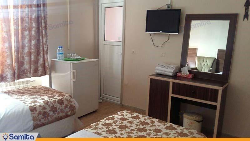 اتاق دو نفره هتل کرمان
