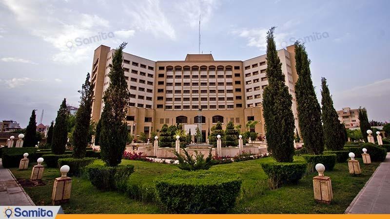 نمای ساختمان هتل پارس کرمان
