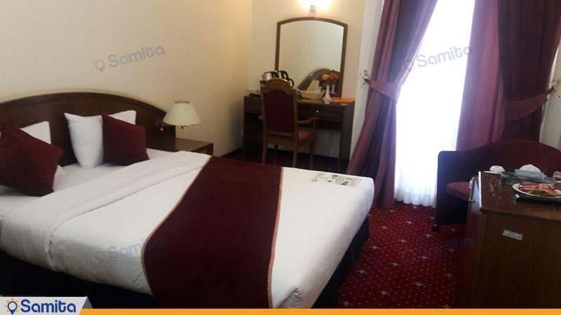 اتاق دبل هتل جهانگردی کرمان