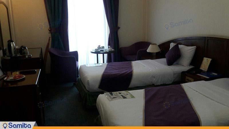 اتاق دو تخته هتل جهانگردی کرمان