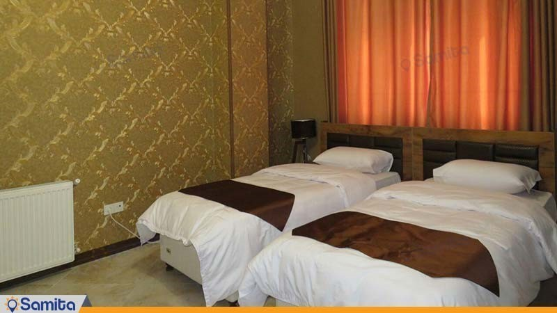اتاق دو تخته هتل آپارتمان کورش