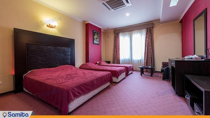 اتاق چهار تخته هتل رنگین کمان