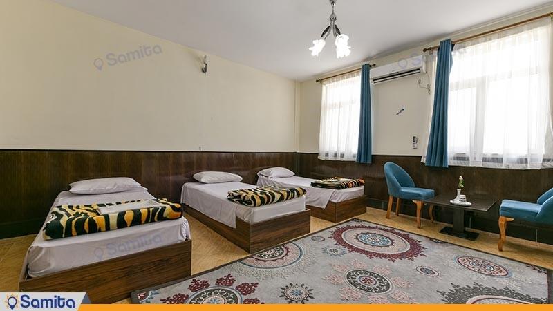 اتاق سه تخته هتل سالیز