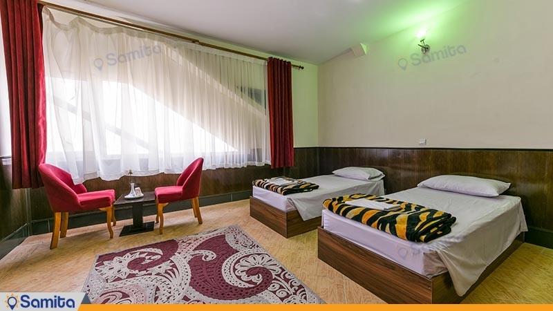 اتاق دو تخته هتل سالیز