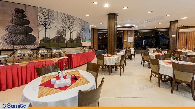 رستوران هتل آرامش