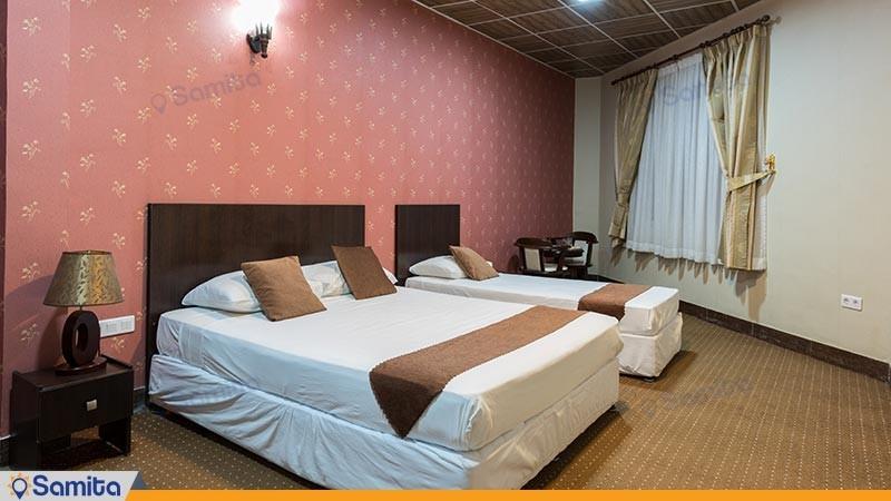 اتاق سه تخته هتل آرامش