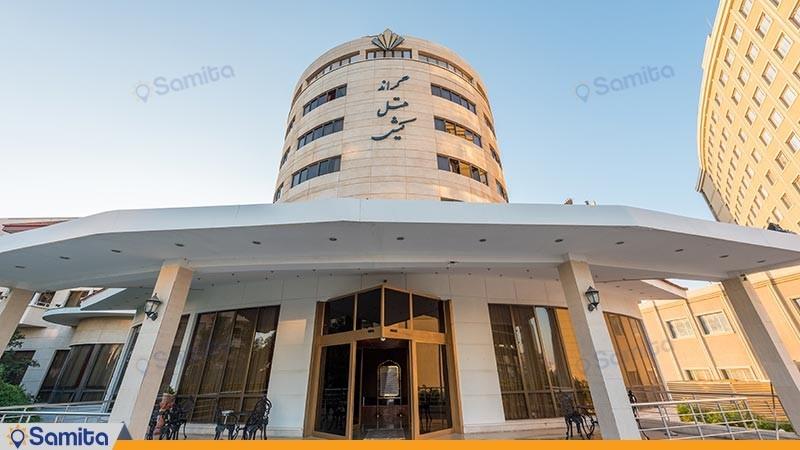 نمای ساختمان هتل گراند