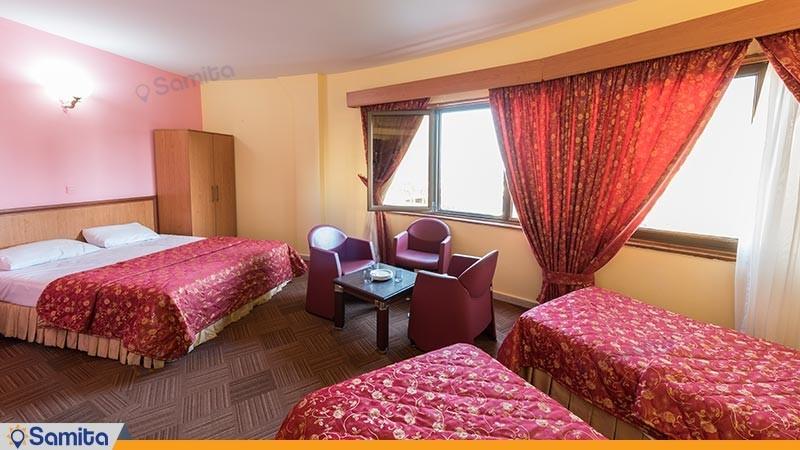 اتاق چهارتخته هتل گراند