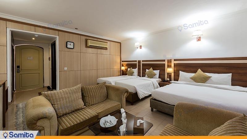 اتاق چهارتخته هتل هلیا