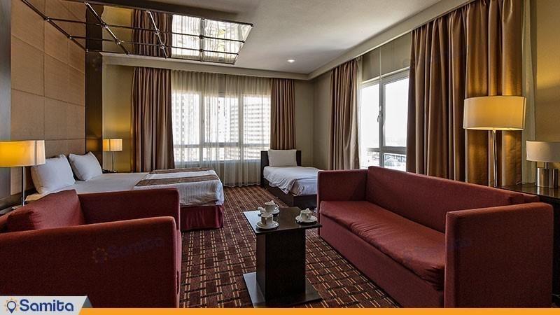 اتاق سه تخته هتل ایران کیش