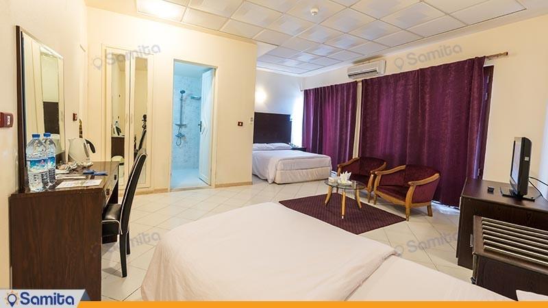 اتاق سه تخته هتل جام جم