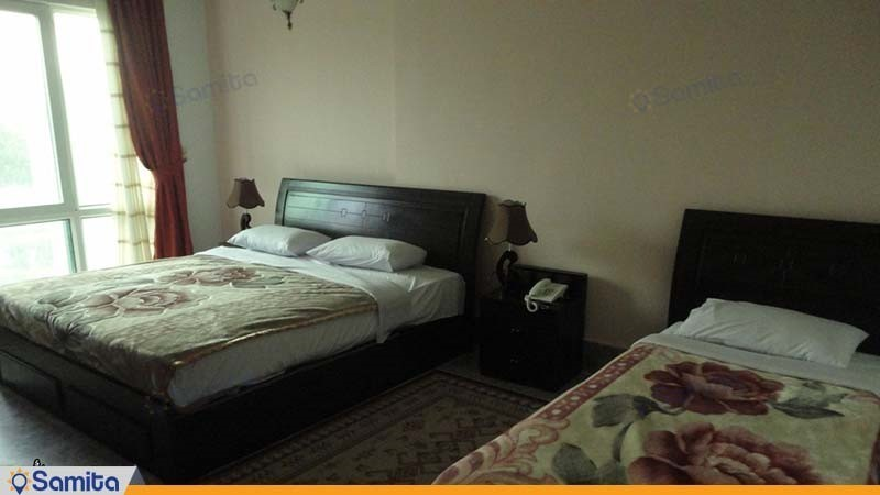 اتاق سه نفره هتل لوتوس