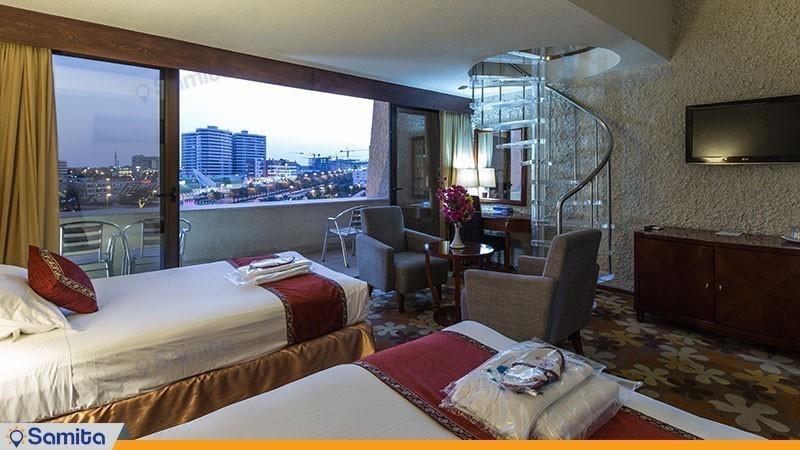 غرفة دوبلكس مطلة على الجزيرة فندق شايان