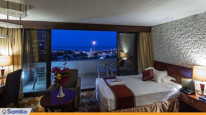 غرفة دوبلكس المطلة على البحر فندق شايان