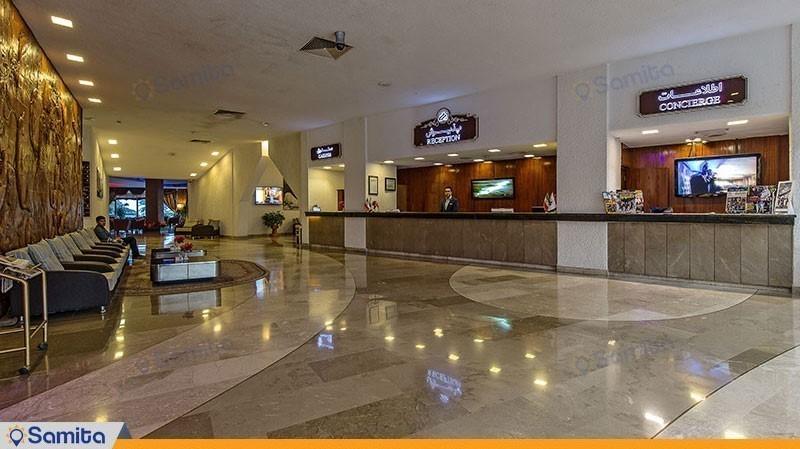 الاستقبال فندق شايان كيش