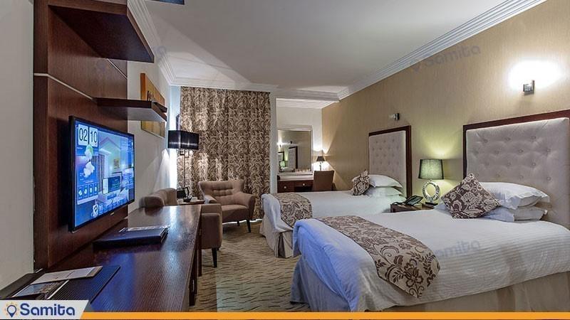 اتاق دو تخته استاندارد هتل سورینت مریم